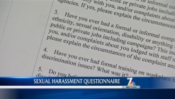 Candidates Respond to Sexual Harassment Survey