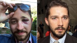 Shia LaBeouf Offers Sympathy, Soup to Socked Look-Alike