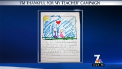 Thank a Teacher Campaign