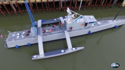 Unmanned Ship Arrives in San Diego