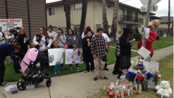 Loved Ones Gather for 17-Year-Old Fatally Stabbed
