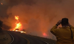 Thomas Fire Becomes 5th Largest Wildfire in Calif. History