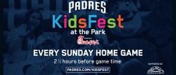 Padres Kids Fest July 1st