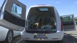 22 Hearses Carry Flowers to El Paso Shooting Site