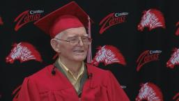 95-Year-Old WWII Vet Graduates From High School