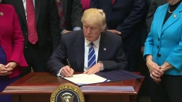 Trump Signs Four Bills Rolling Back Obama-Era Regulations
