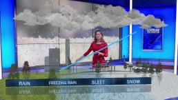Rain, Sleet and Snow Explained with Augmented Reality