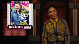 'Late Night': Amber Ruffin on Shelton Being Named 'Sexiest'