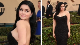 SAG Red Carpet: Ariel Winter 'Not Ashamed' of Scars