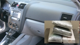 K-9 Sniffs Out Nearly $100K Worth of Cocaine Stashed in Dash