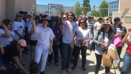 Families March to San Ysidro HS to Protest Bus Route Cuts