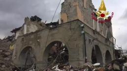 Historic Buildings Crumble in Italian Earthquake