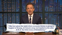 'Late Night': Seth Explains Teen Slang, Holiday Edition