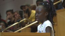 9-Year-Old Girl in Charlotte Makes Plea For Peace