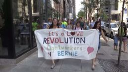 Thousands of Sanders Supporters Protest in Philadelphia