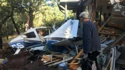 Small Plane Crashes Into Arizona Home, Missing Homeowner