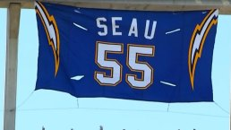 Junior Seau's Jersey Retired