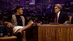Junior Seau Appears on Tonight Show in 1994