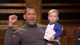 'Tonight': A-Rod Has Hitting Contest with 22-Month-Old