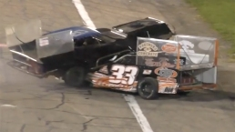 Drivers Arrested After Crash and Brawl on Racetrack