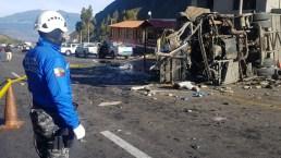 Bus Crash in Ecuador Leaves Dozens Dead
