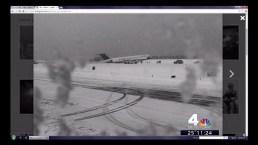 Plane Skids Off Runway at LaGuardia Airport