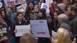 March for Our Lives Protesters Rally in London