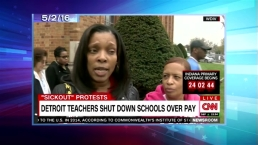 'Late Night': Look at Detroit Teachers Stag Sickouts
