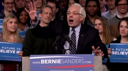 Bernie Sanders' New Hampshire Victory Speech (Jimmy Fallon)