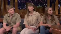 'Tonight': The Irwins Talk Steve, Conservation