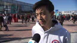 Vincent Zhou Explains Why He Was Overcome After His Free Skate