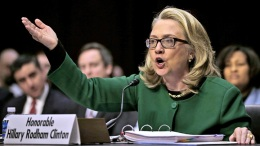 Clinton Clashes with GOP at Benghazi Hearings
