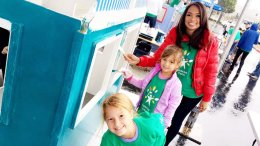 NBC 7 Builds Playhouses for Comcast Cares Day