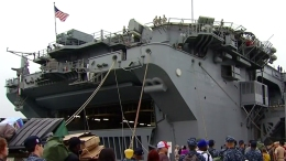3 Navy Ships Deploy to Middle East<br />