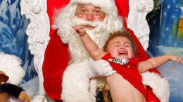 Merry Meltdowns on Santa's Lap