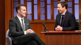 "Van Der Beek Apologizes to Birbiglia on ""Late Night"""