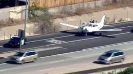 Plane's Safe Landing on I-8 Called a 'Miracle'