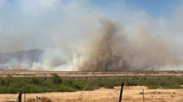 Controlled SR-78 Burn Leads to Large Brush Fire