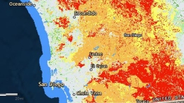 Map Shows Areas of San Diego at Highest Risk of Wildfires