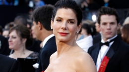 Sandra Bullock - Baby Louis Is Such A 'Flirt!'