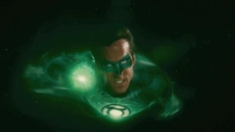 """Green Lantern"" Basically Naked But for Bulging Codpiece"