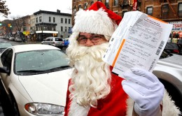 Ho No! Meter Maid Tickets Santa