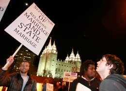 Mormon Church Face Prop 8 Related Fine