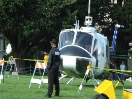 A Helicopter in Duboce Park?