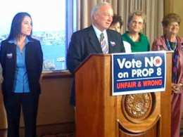 Mayor, DA, Families Urge No on Prop. 8