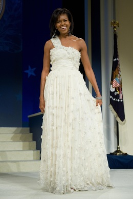 From 2009: Inaugural Ball Gowns