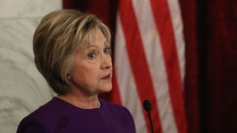 Hillary Clinton Warns Against 'Epidemic' of Fake News