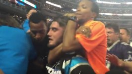 Video of Guard's Chokehold at Cowboys Game Prompts Probe