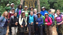 Doctor, Nurses Joins Cancer Survivor on Trek Up Mt. Kilimanjaro
