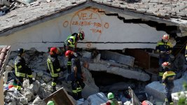 4.3-Magnitude Aftershock Hits Quake-Struck Area in Italy
